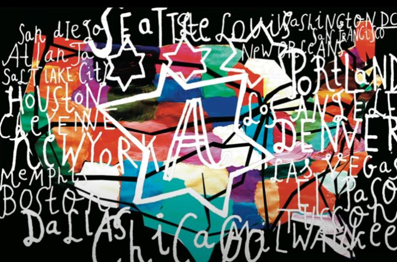Grafikeren David Carson viser bl.a. at man godt kan bruge skrifttyper, der ikke nødvendigvis er letlæseligt – blot det har det udtryk du ønsker.